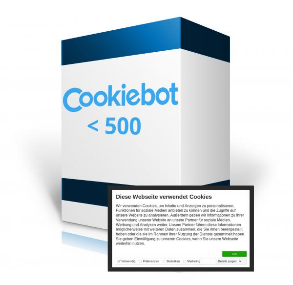 Cookiebot - Die Cookie-Steuerung für Ihre Webseite